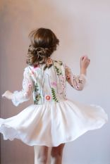 Cute bridesmaid dresses for little girls ideas 49